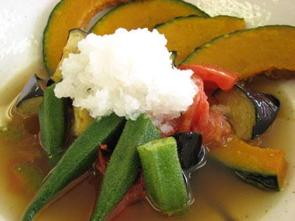 4色野菜の揚げびたし