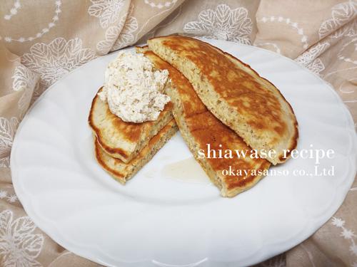 甘栗のパンケーキ